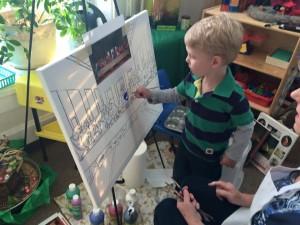 pre-school painting